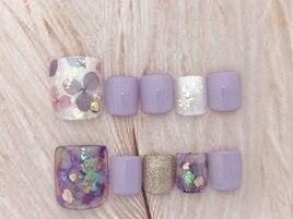 紫陽花フット定額¥5500