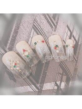 アルファ ネイルズ(ALPHA NAILS)/クリスマスネイル≫初回 ¥8,580