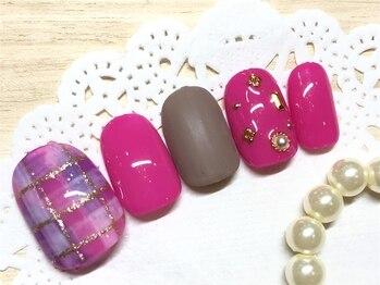 ネイルアンドアイラッシュ ブレス エスパル山形本店(BLESS)/トレンド定額☆
