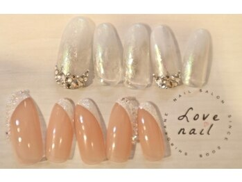 ラブネイル(LOVE NAIL)/ブライダル9000円i