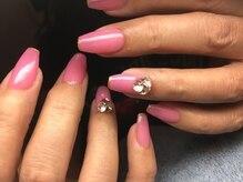 ネイルズ ラ ブリーサ(nails La Brisa)/ロングネイル☆ビジュー