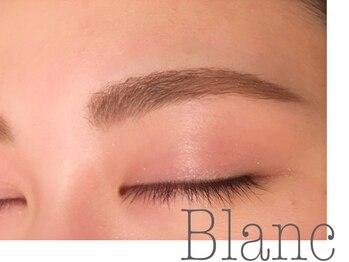 アイラッシュサロン ブラン アリオ鷲宮店(Eyelash Salon Blanc)の写真/60分で大変身!お悩みパーツ第1位の眉はサロンにお任せ!地眉を活かしたスタイリングが人気◎