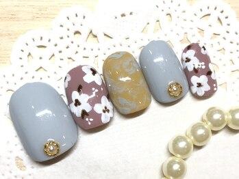 ネイルアンドアイラッシュ ブレス エスパル山形本店(BLESS)/ラグジュアリー定額☆