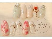 ラブネイル(LOVE NAIL)/ブライダル9000円j