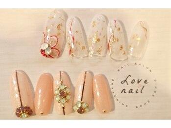 ラブネイル(LOVE NAIL)/ブライダル12000円j