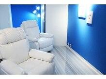 ビューティニーズ(Beautinese)の雰囲気(店内はオーナーのこだわりが満載♪青と白のリラックス空間☆)