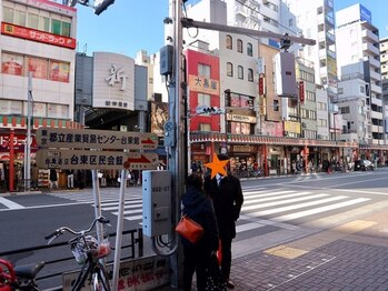 エラワンタイ古式マッサージ/銀座線浅草駅7番出口から出発♪