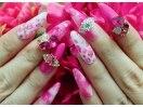 ピンクネイルならOHANA