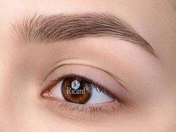 トータルビューティーサロン リカルド本店(total beauty salon Ricard)の写真/【美眉メソッド/アイブロウWAX脱毛新規1回¥3,930】お顔のバランスを見極め似合う眉毛デザインをご提案!