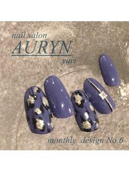 アウリン(AURYN)/11月限定monthly design No,6