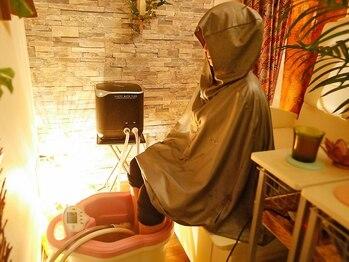 ヨサパーク モックス 小瀬店(YOSAPARK MOX)の写真/女性の抱える様々なお悩みにアプローチ!11種類のハーブミストのポカポカ感と潤い感にハマる人続出!!