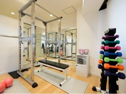 渋谷パーソナルトレーニング・ジム・ダイエット| Fitness Sharez For Women×ALLURA