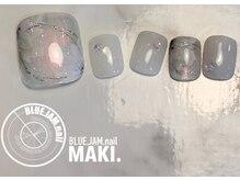 ブルージャムネイル(BLUE.JAM.nail)/FOOTキャンペーンネイル☆
