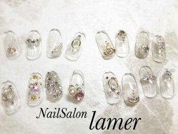 ネイルサロン ラメール(Nail Salon lamer)/ストーンアート♪1本440円から