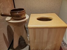 よもぎの椅子と鍋のこだわり