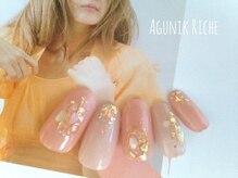 アグニークリッシェ(Agunik Riche)/【ホログラムネイル】