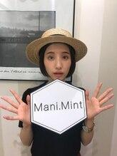 マニミント 表参道店(mani.mint)/谷奥えまさんご来店