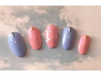 イデア 柏の葉T-SITE(idea)/ピンク&ブルー