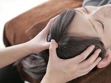 癒しの心の雰囲気(頭蓋骨ケアや首筋のマッサージにより、効果すごいます。)