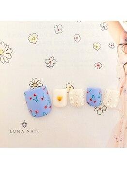 ルナ ネイル(LUNA NAIL)/さくらんぼネイル♪