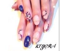 キヨラ ユーツー ネイル(KIYORA U 2)の雰囲気(定着の良いバイオスカルプチュアジェルを使用しております。)