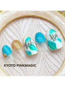 ピンクマジック(PINKMAGIC)/リーフネイル