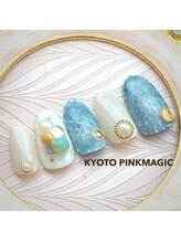 ピンクマジック(PINKMAGIC)/デニムネイル