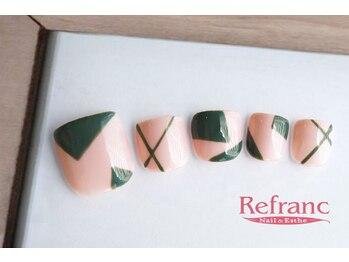 ルフラン 武蔵境店(Refranc)/カーキーで印象的な模様を!