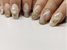 アマカ ネイル(amaca nail)の雰囲気(持ち込みアートやサロン内のデザイン豊富♪)