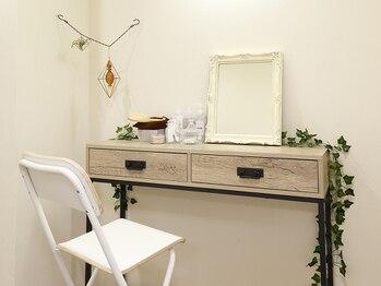 アイラッシュサロン アネラ松戸(Anela)/個室のパウダールームをご用意♪
