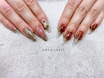ナル ネイル(nALu+nail)の写真/【スカルプ初回¥9980~】爪コンプレックスをカバーして憧れの美爪に♪