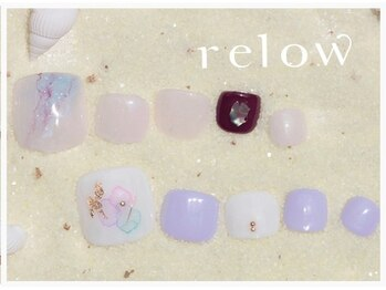 リロウ(relow)/FOOTキャンペーンアート☆1.2