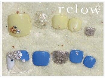 リロウ(relow)/FOOTキャンペーンアート☆3.4