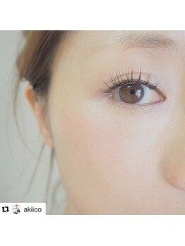 ジューシーアイ 川越店(Juicy Eye)/モデル田中亜希子さんご来店