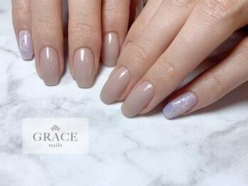 グレース ネイルズ(GRACE nails)/スクエアネイル