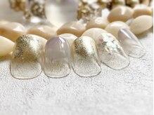 ネイルアンドアイラッシュ ブレス エスパル山形本店(BLESS)/キラキラホロネイル