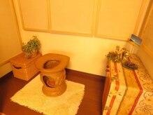 隠れ家的サロン ヒーリングハウス ポロカ(poloka)の雰囲気(体調によってよもぎ蒸し、ササ蒸し、ハーブ蒸しから選べる◎)