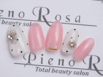 ピエノローサ(Pieno Rosa)/アート4本付きジェル¥5500