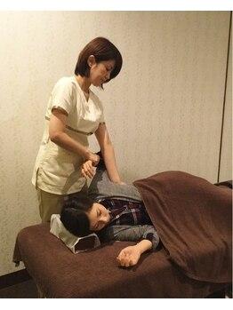 女性専用整体サロン フレル(Frele)/肩回りの施術