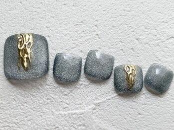 リーチェ ビューティアンドネイルサロン 大名店(Beauty&Nail Salon)/spring foot design