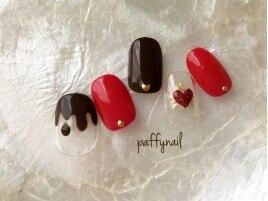 チョコレートとハート
