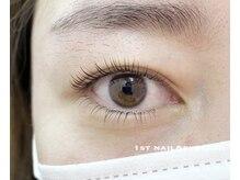 ファーストネイルアンドアイラッシュ 札幌駅前店(1stNAIL&eyelash)/上下まつげパーマ【次世代】