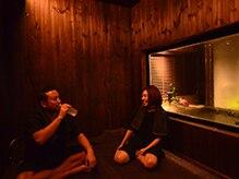 オリーブスパ 自由が丘店(OLIVE SPA)の雰囲気(今人気の富士山溶岩浴!たっぷりのマイナスイオンでデトックス!)