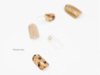 ウェアネイル(WEAR NAIL.)/秋べっ甲ネイル¥8800