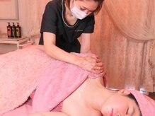 ソワンテラピー(Soin Therapy)の雰囲気(筋膜ストレッチからお顔にアプローチ!新感覚小顔術)