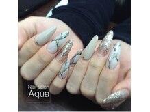 ネイルサロン アクア(Nail salon Aqua)の雰囲気(スカルプも得意です!長い爪が好きな方、イベントにもオススメ♪)
