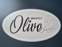 オリーブ(Olive)の雰囲気(入口の看板)