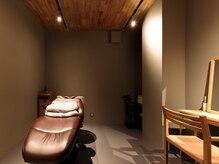 ヘッドスパ専門店 アモン 岡山(amon)の雰囲気(完全個室で周りの目を気にせず、ゆったりと施術が受けられます。)