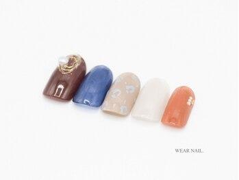 ウェアネイル(WEAR NAIL.)/シンプルレオパード柄¥9350