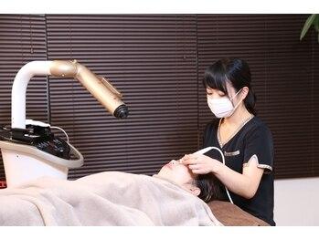 小顔屋ゆらやぎの写真/小鼻のザラザラや黒ずみを徹底オフ!!肌状態を見極め施術で感動の素肌へ♪